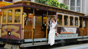 San Francisco Cable Car Wedding
