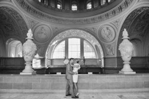 Beautiful architecture at San Francisco City Hall