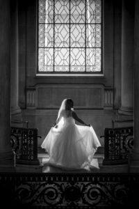 Bride sillhouette