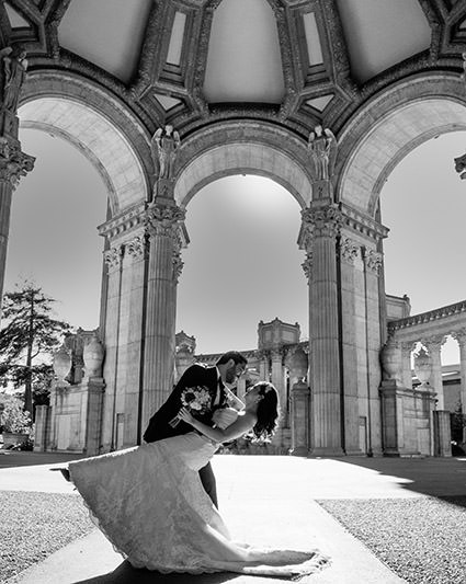 Palace of Fine Arts Wedding Image